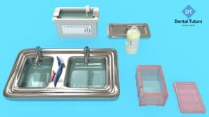 Dental instruments disinfection